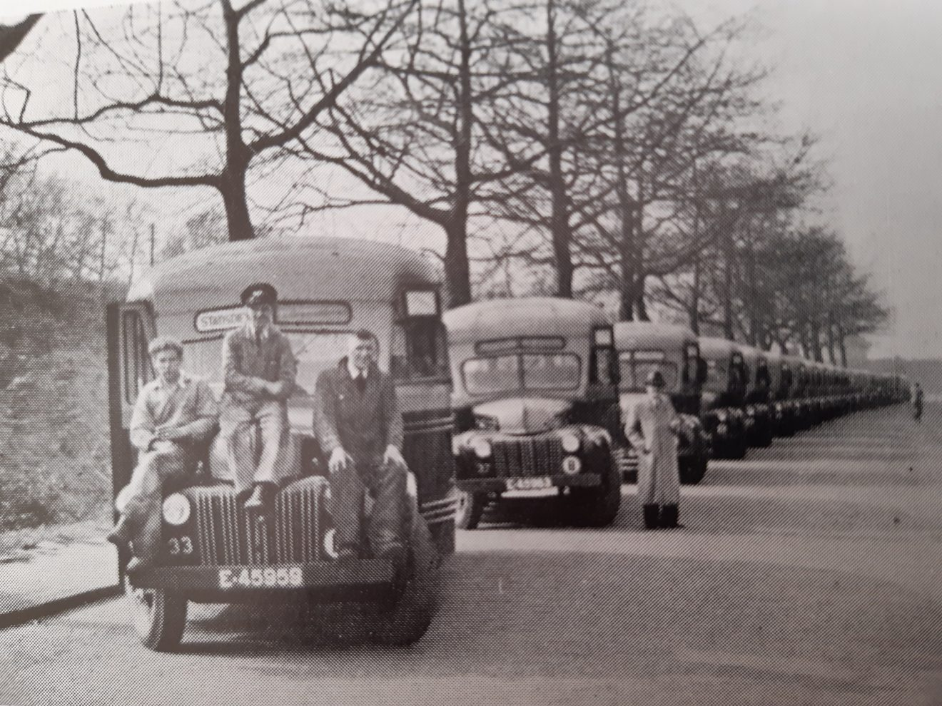 Ford bussen 1947