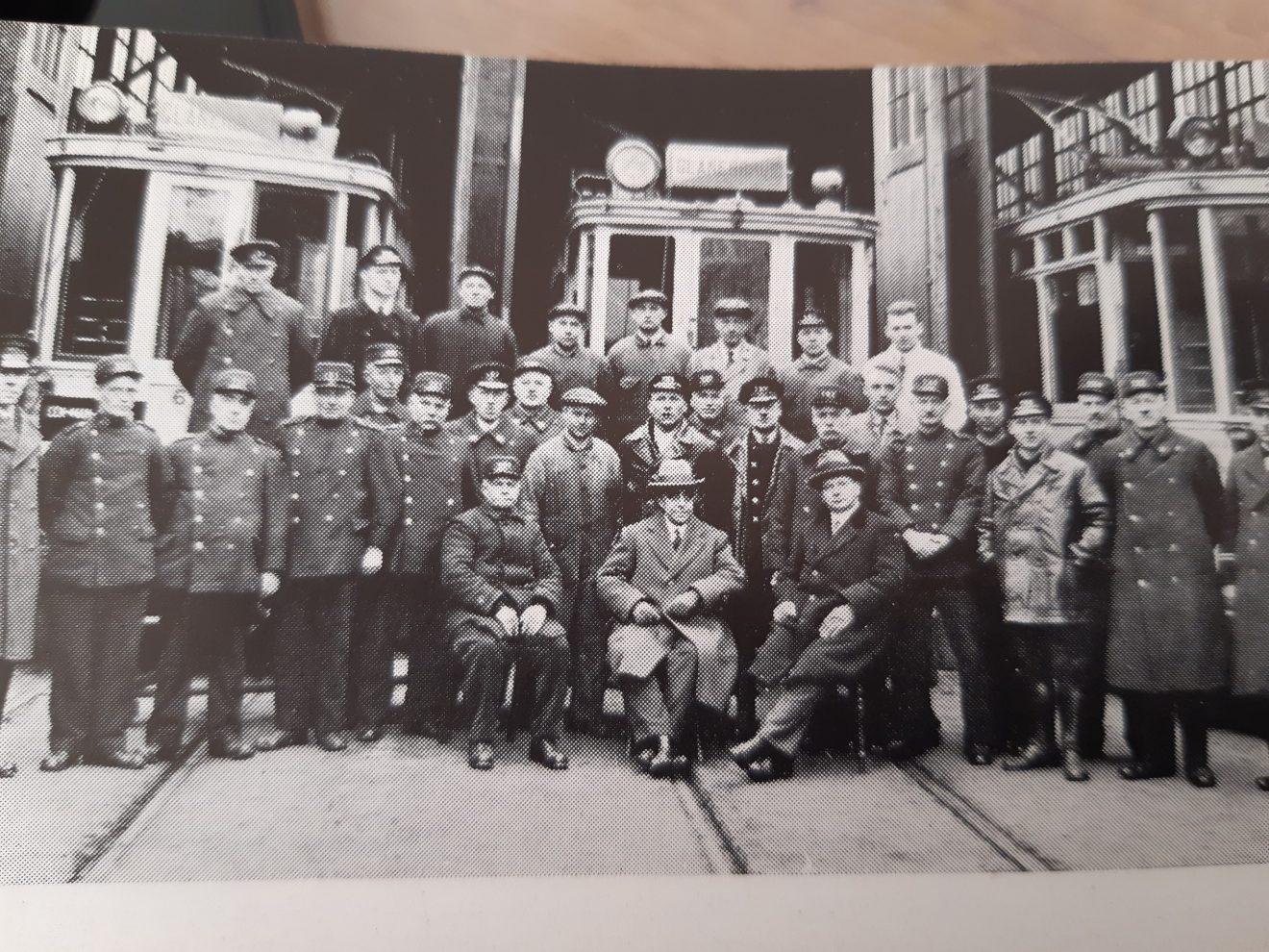 Laatste foto personeel tram