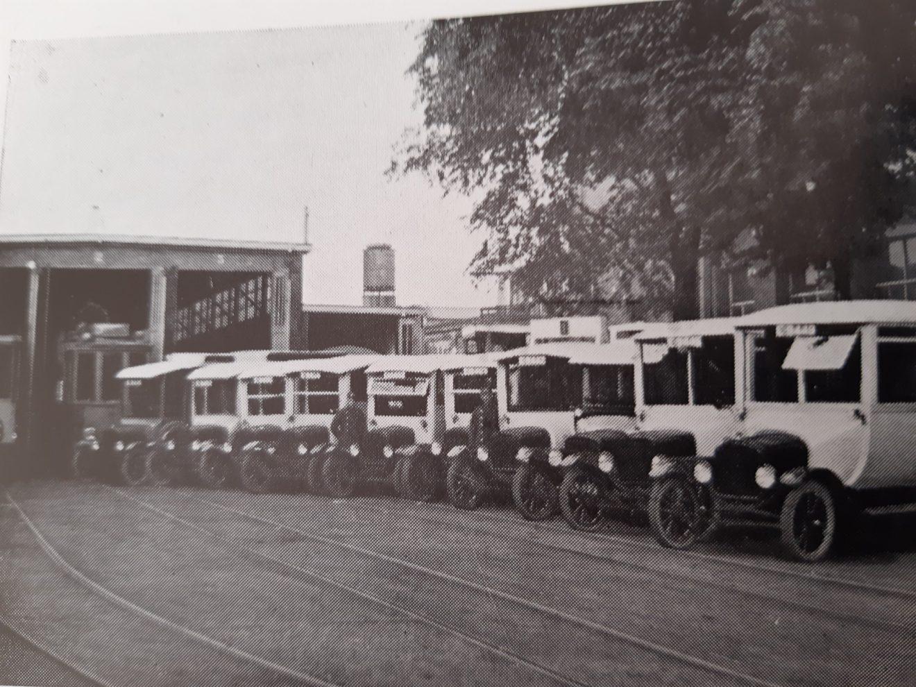 bus tram stalling