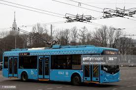Trolley Moskou modern