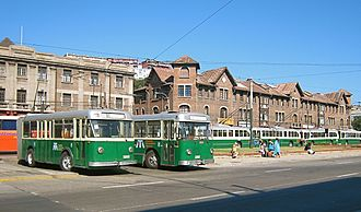 Trolleybus Chili