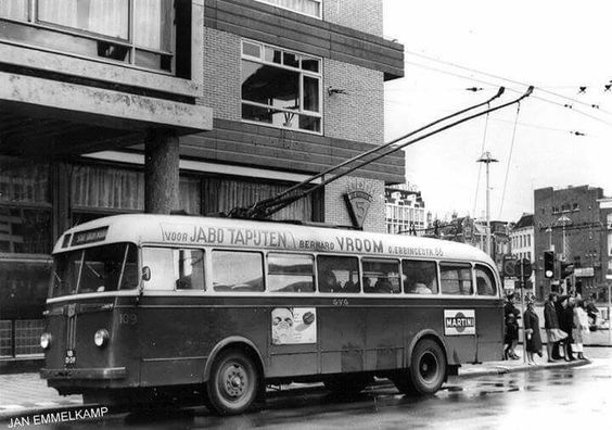 Trolleybus groningen. 2