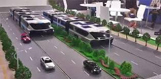 futuristische bus