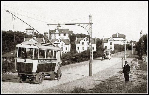 oude trolleybus
