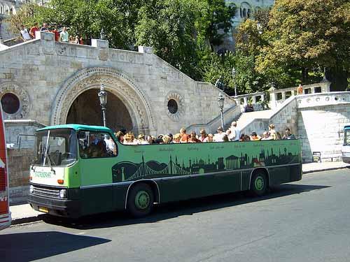 09 - 97 - Cabriobus groen en lelijk