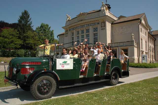 Een cabrio van Steyr Oosterrijk motors later opgegaan in Volvo