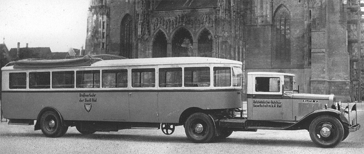 Oplegger stad Kiel 1933