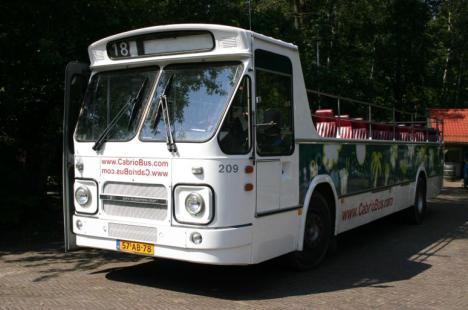 bewuste bus op koningedag