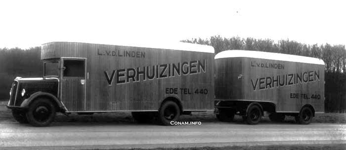 vracht wagen aanhanger