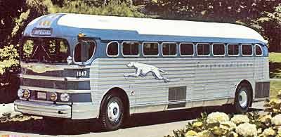 1941 GM greyhound