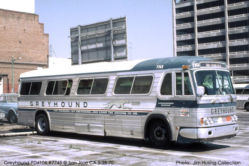 1970 GM PD greyhound