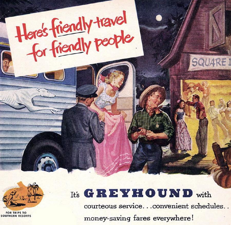 tekening Greyhound