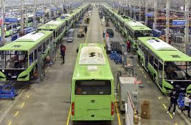 Fabriek bussen BYD